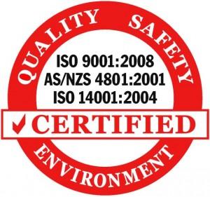 Certification ISO 4801:2001 emblem