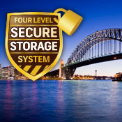 Kent Removals & Storage's unique four-level secure storage solution image