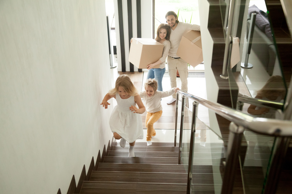 Moving into new home with kids