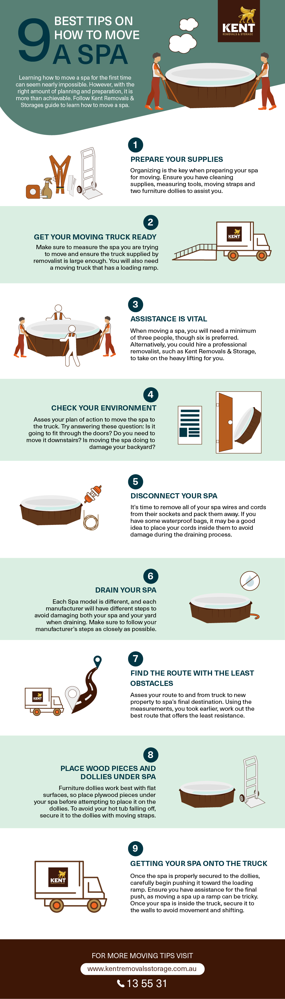 9 Tips On How To Move A Spa