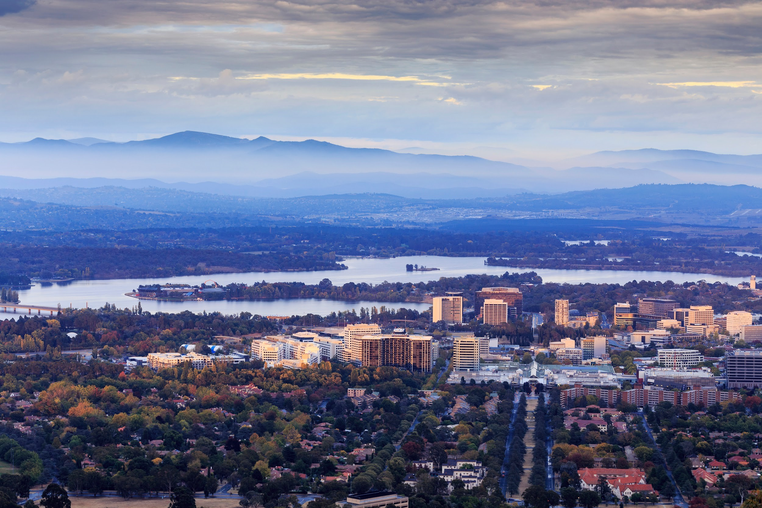Moving to Canberra