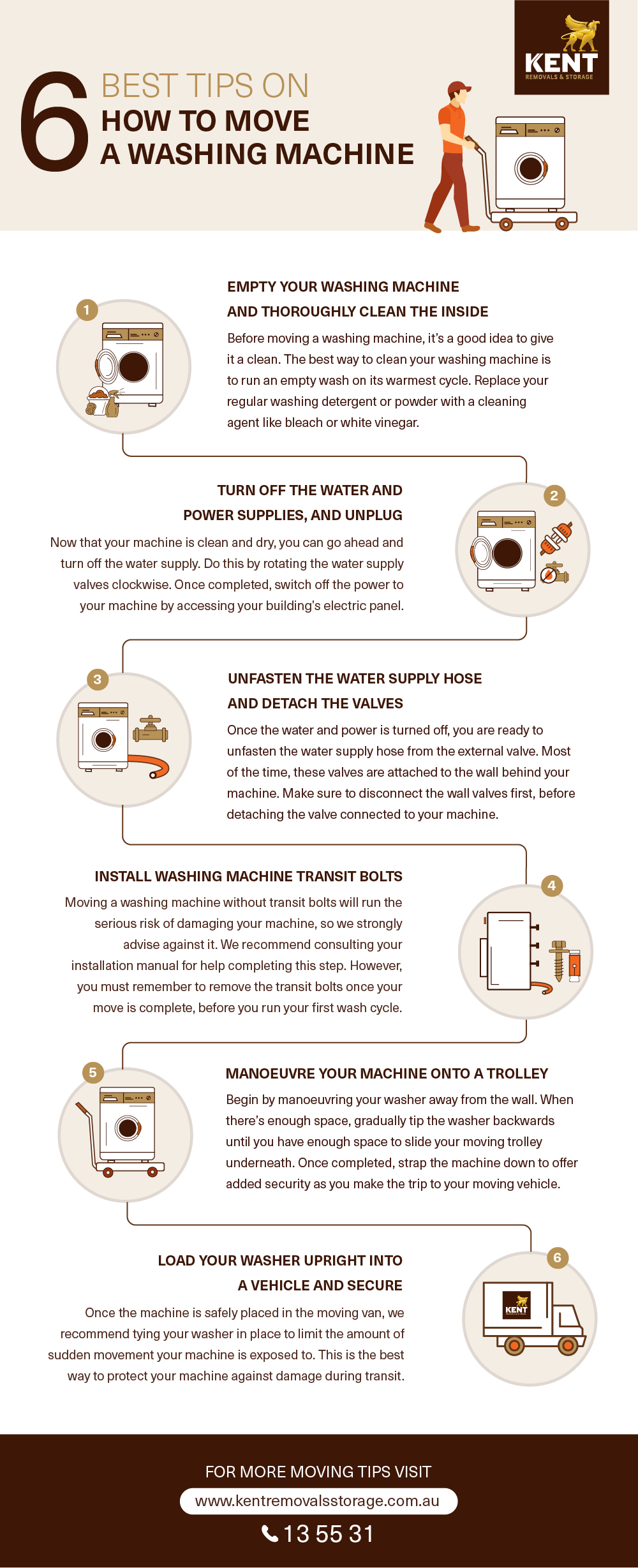 How To Move Washing Machine